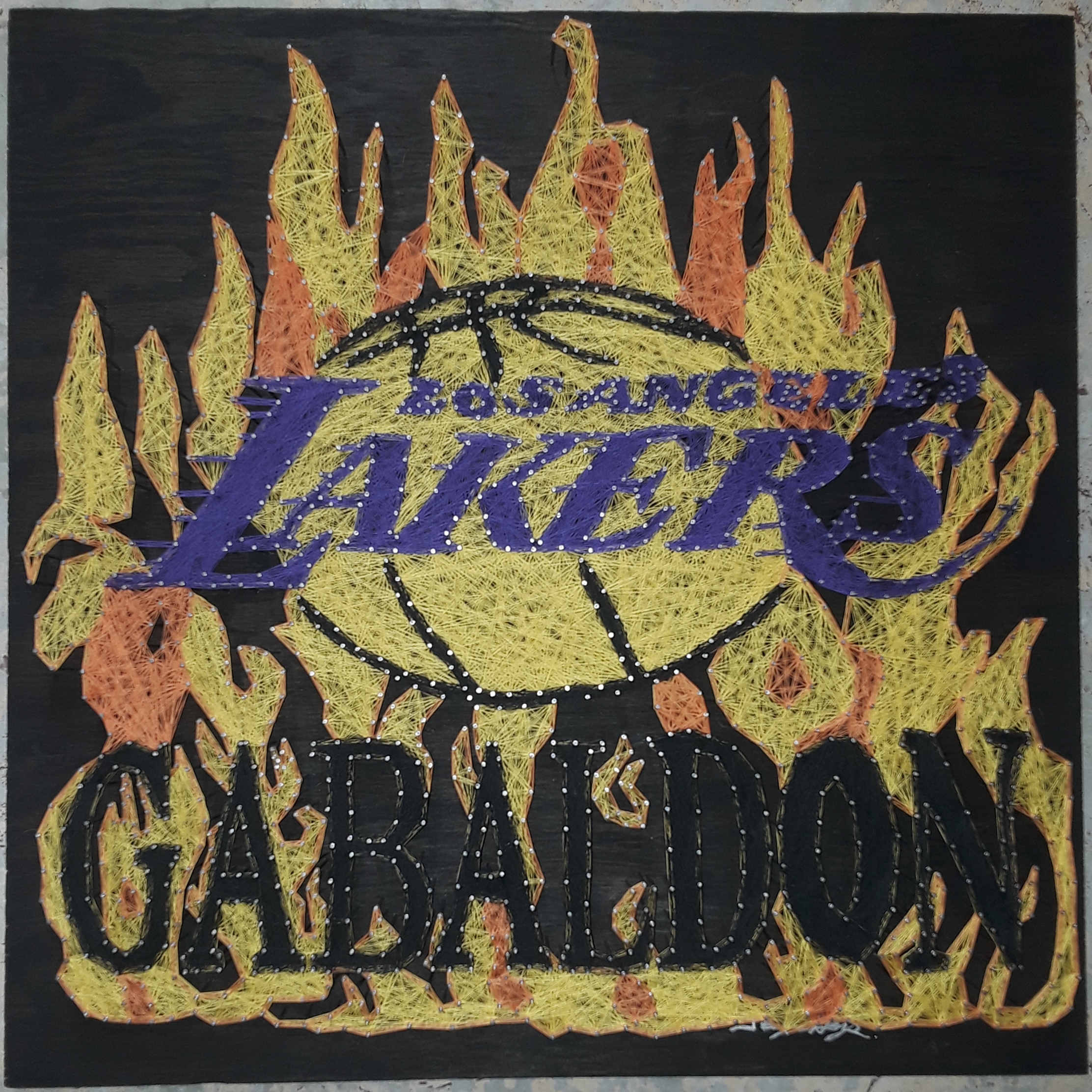 24x24 Lakers