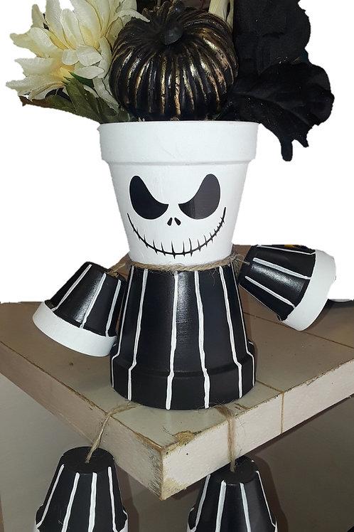 Jack Skeleton Pot People