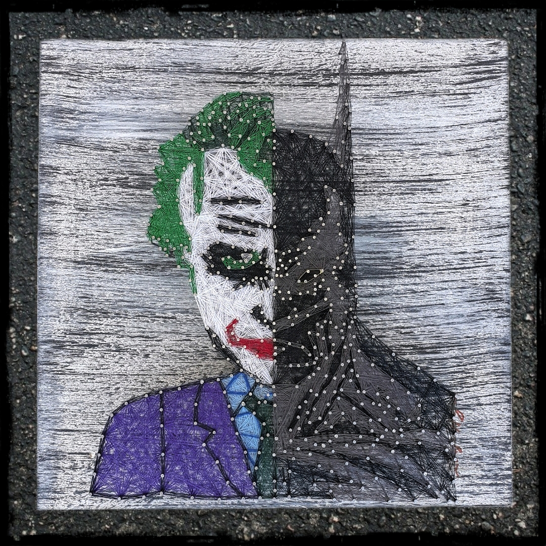 16x16 Joker/Batman