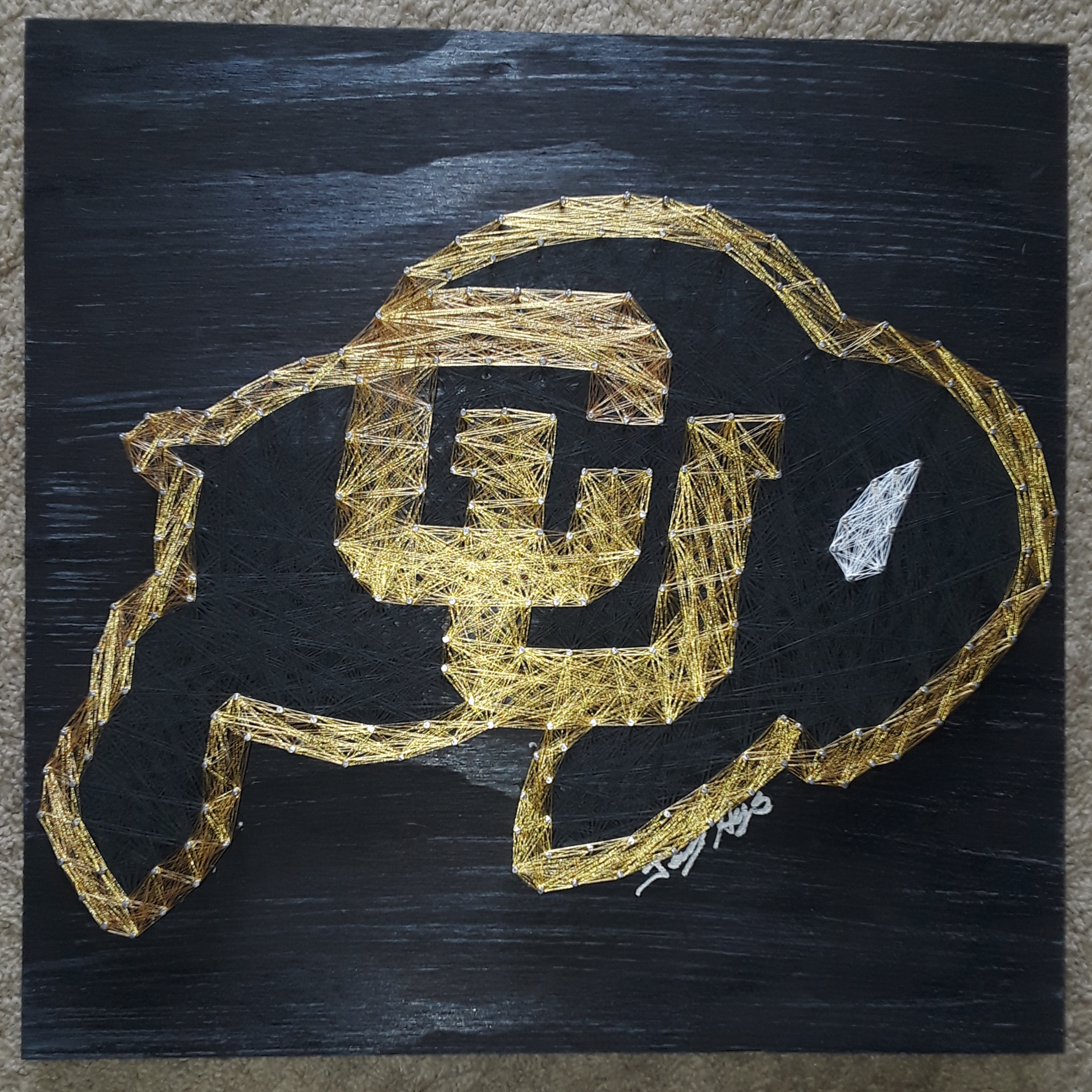 16x16 Colorado Buffs