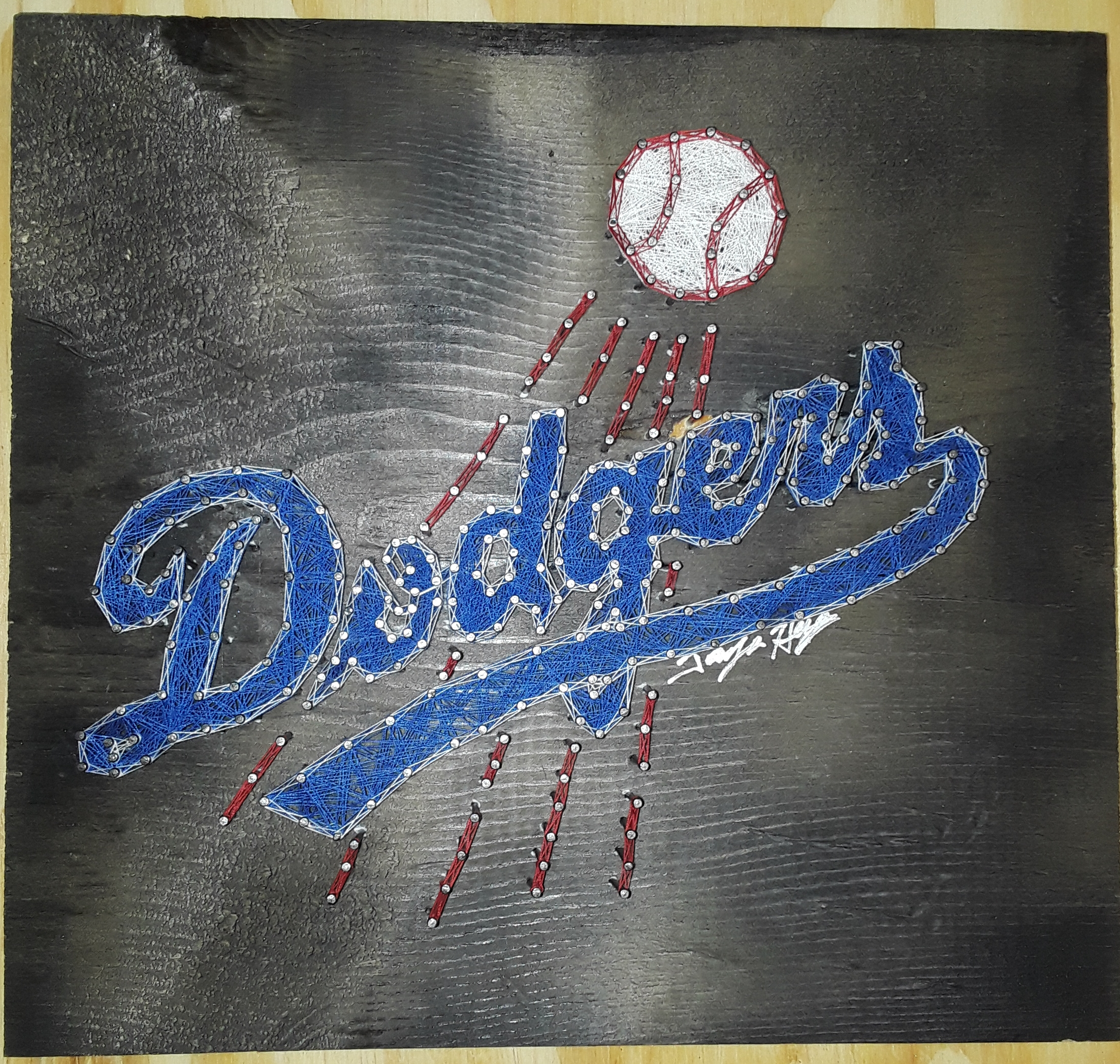 12x12 Dodgers