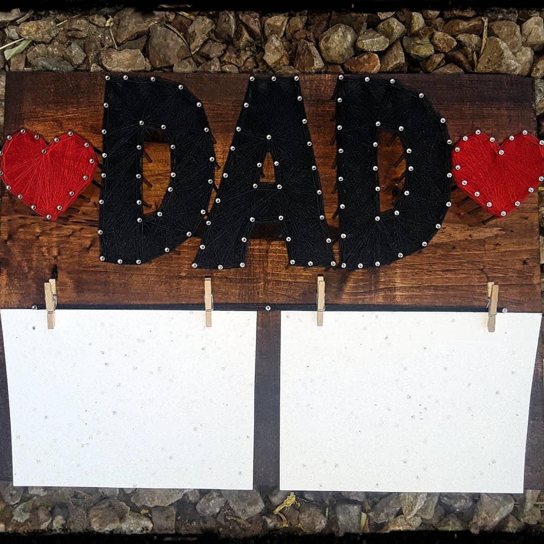 10x12 Dad photo holder