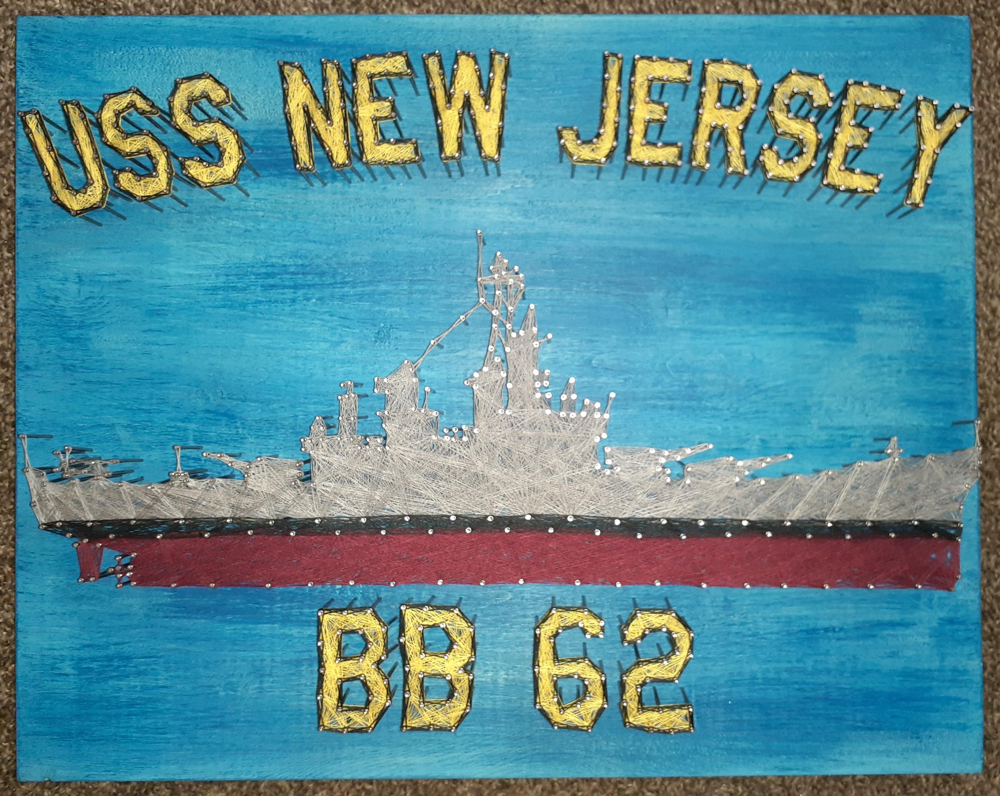 16x20 USS New Jersey