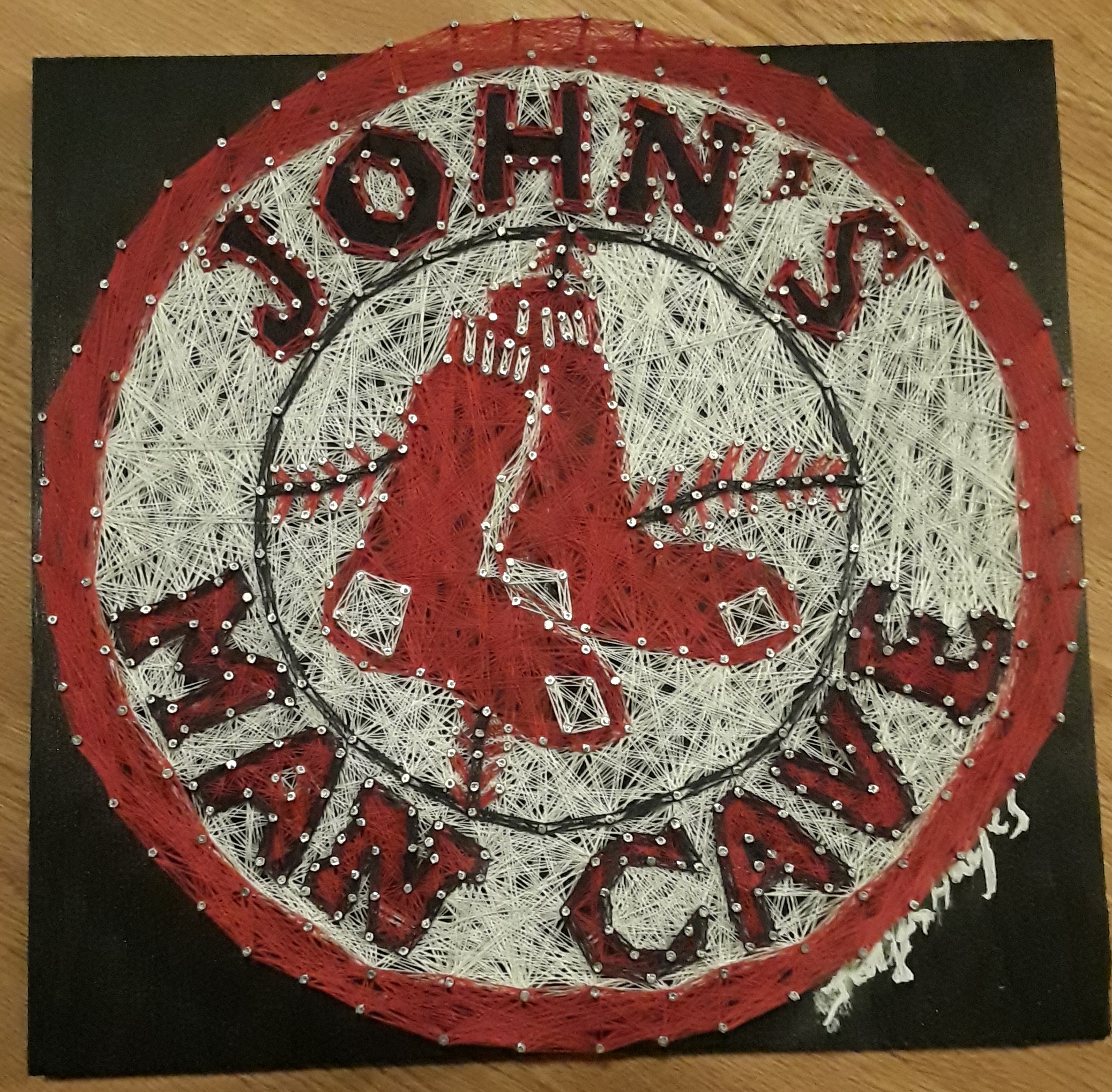 12x12 Red Sox