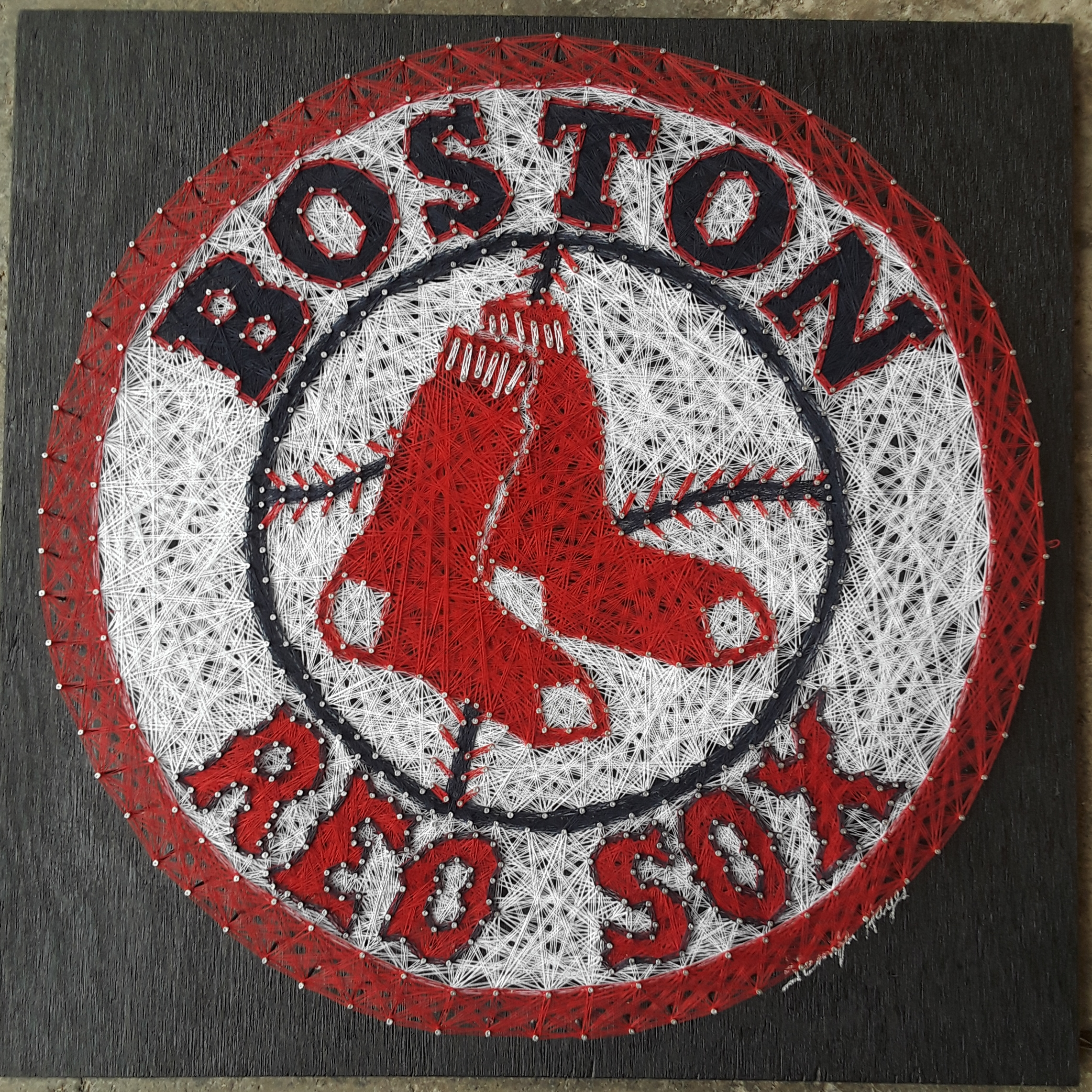 20x20 Red Sox
