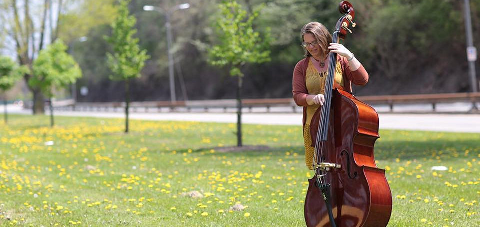 Trish Imbrogno, Pittsburgh Bluegrass Bass
