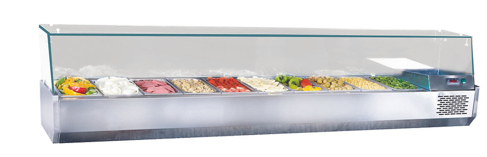 Kühlaufsätze / 210 cm / 10x1/3 GN / SGS-DSP210