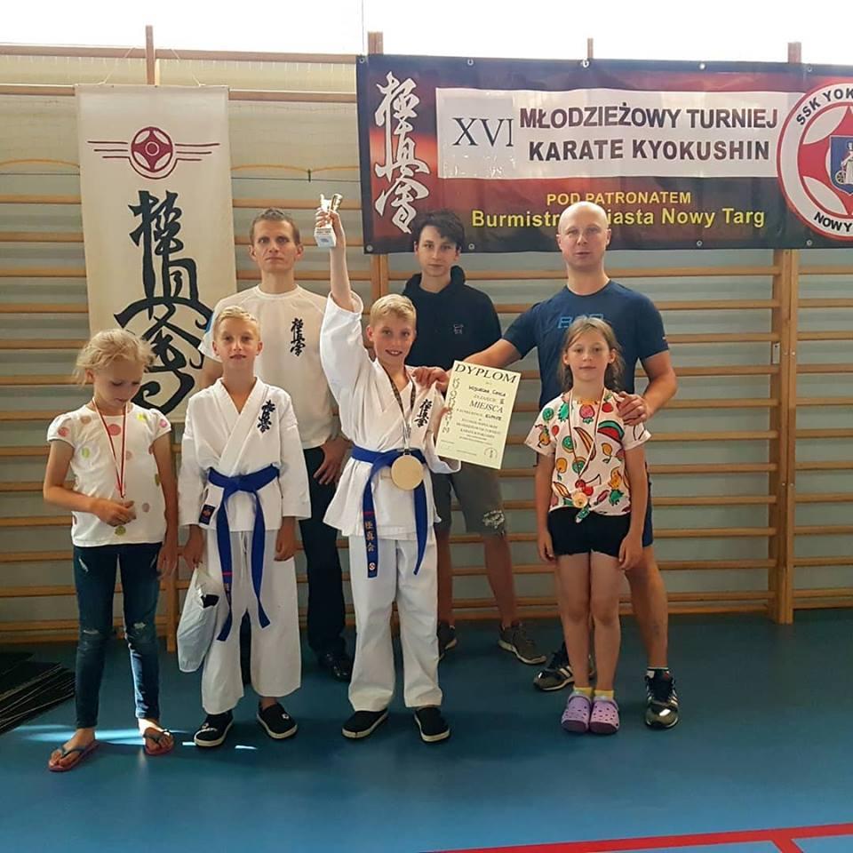Nasi medaliści na XVI OMTKK 2018 w Nowym