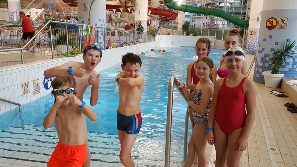 Trening w Aquaparku