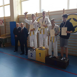 III miejsce Antoni Rzucidło, Gratulujemy