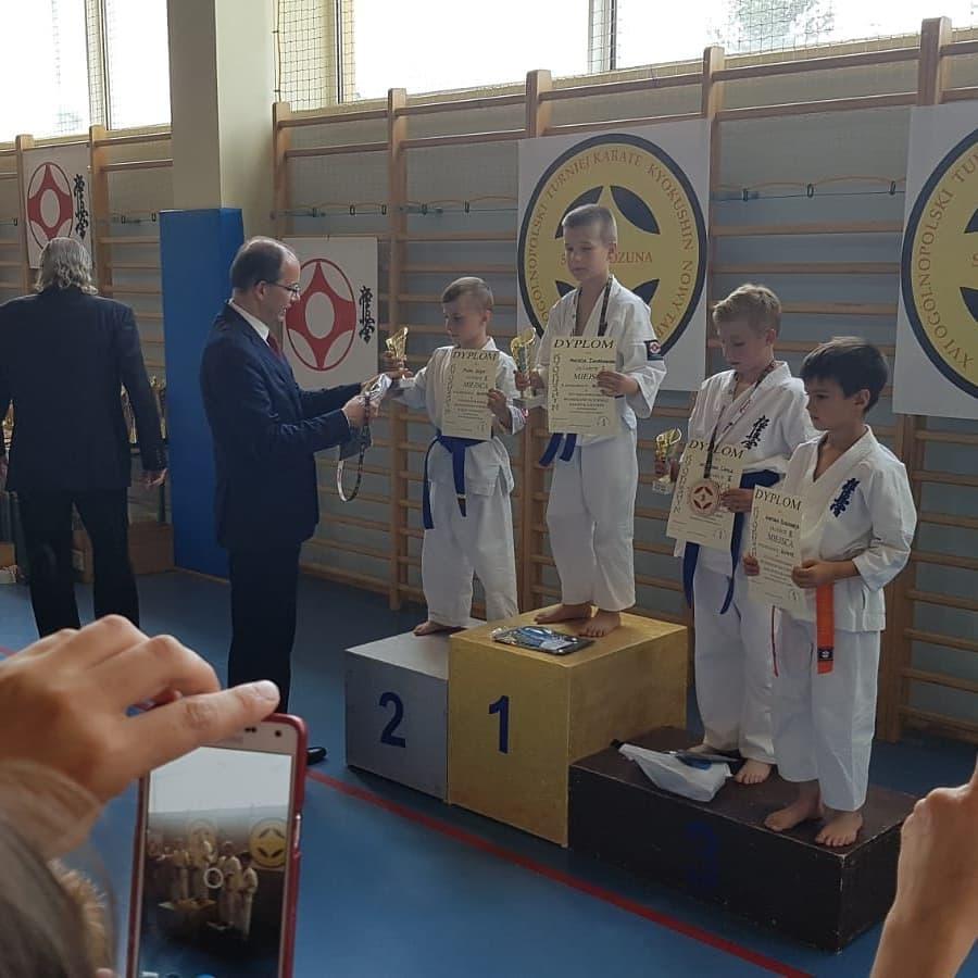 III miejsce Wojtek Chyc, Gratulujemy!