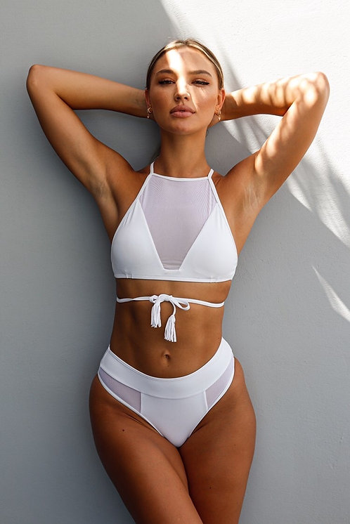 The luxus bikini - white