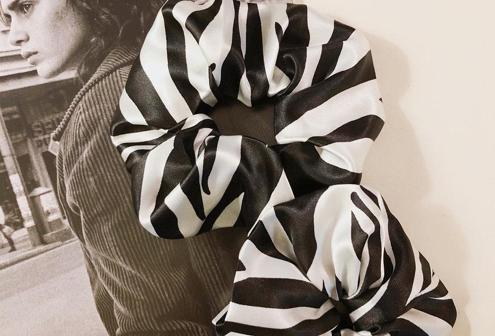 Zebra hair scrunchies - 2 pcs