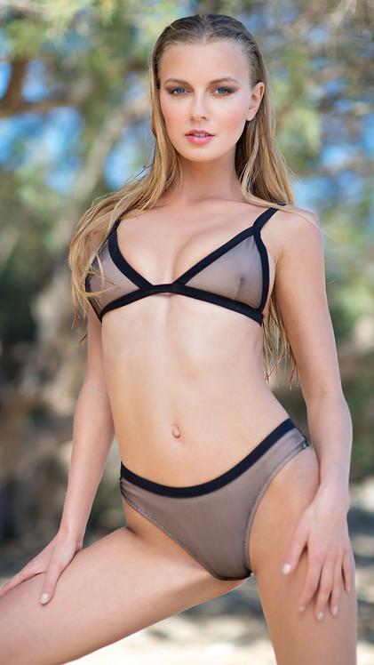 Love net bikini -black