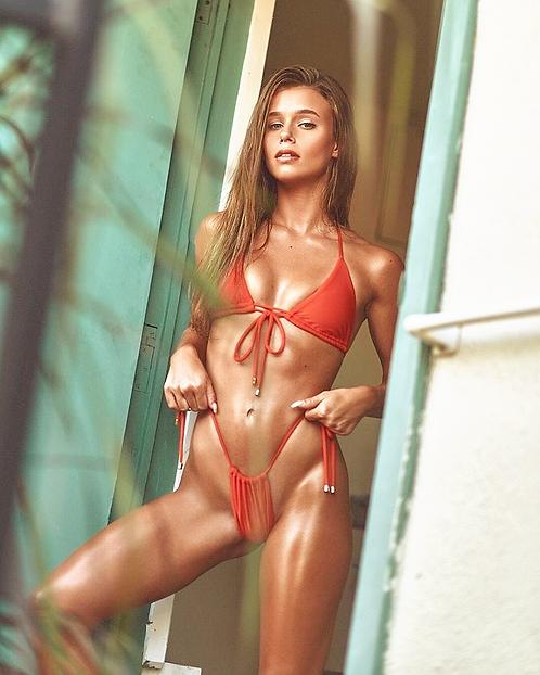 Mirage bikini set /orange