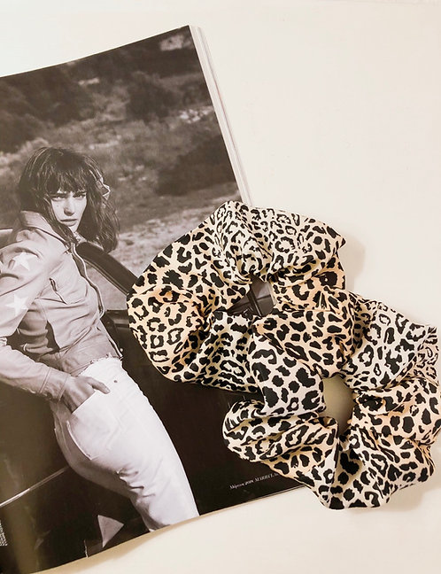Leopard hair scrunchies - 2 pcs