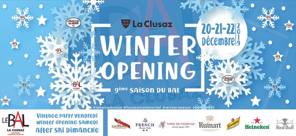 Winter opening 2019