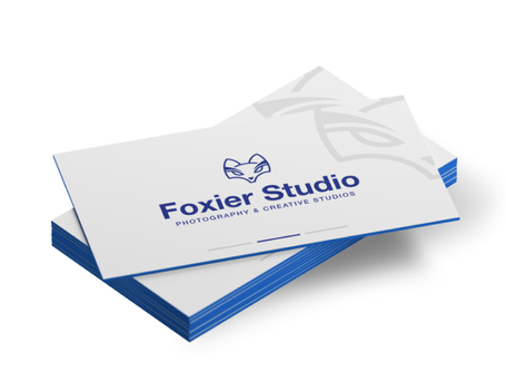 Painted Edge Business Cards 32pt Uncoated