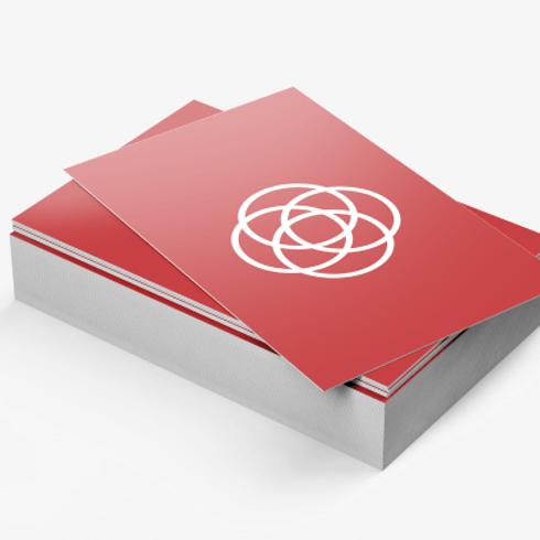 14PT Business Cards- Matte Lamination