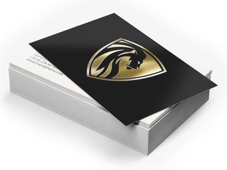 Matte Lamination + Gold / Silver Foil