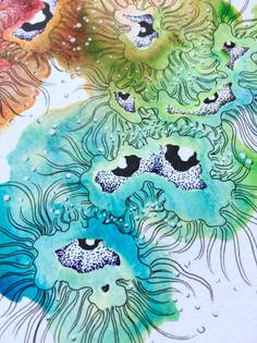 detail of Rainbow Eyes