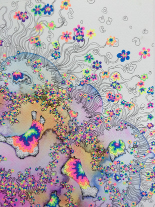 detail of Pipe Dreams