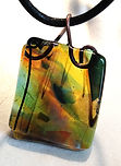 fused glass, carolyn sims, jewelry