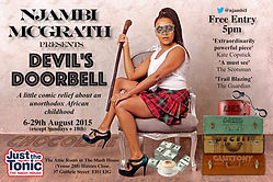 Devil's Doorbell Edinburgh 2015 Njambi McGrath