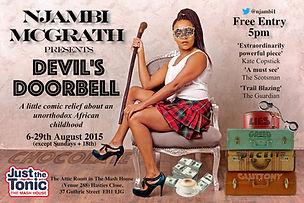 Devil's Doorbell Edinburgh 2015 Njambi McGrath