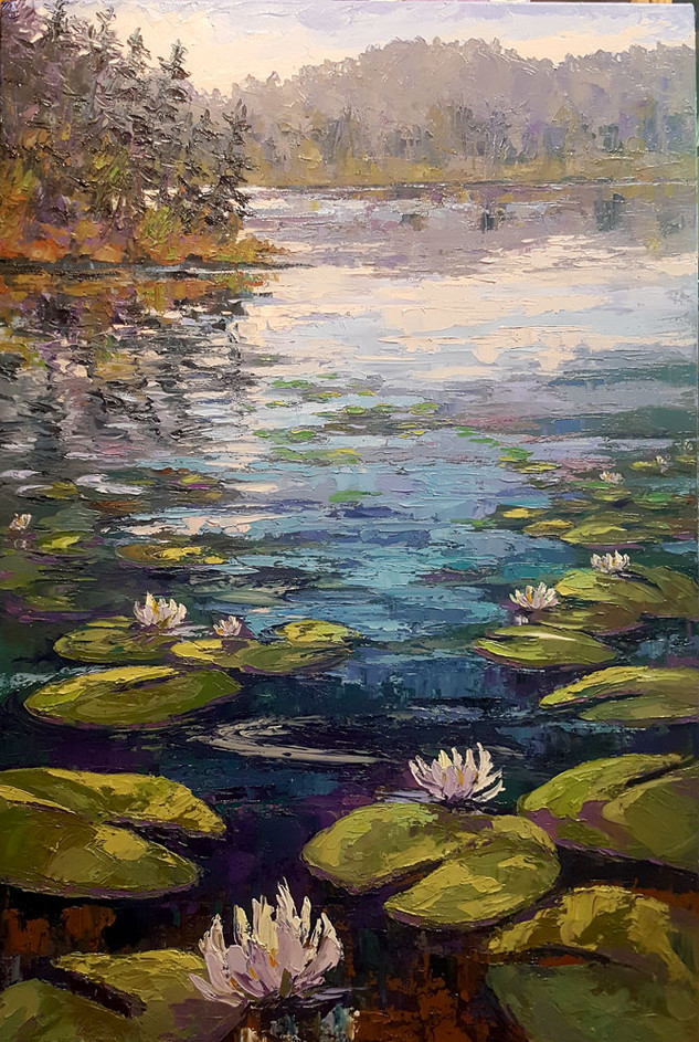 Waterlilies At Bass Lake