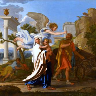 """""""La fuite en Egypte"""" par Nicolas Poussin"""