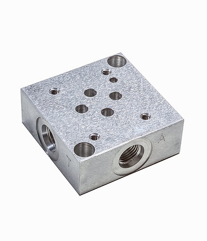 10 - Sub Plate {square} for 12GPM Valve Kit (Part #: VALSUBPLATED03)