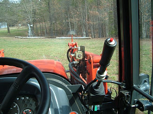 Selector Valve Kit mounted on tractor.
