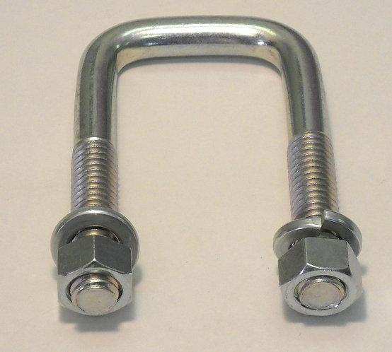 4 - U-Bolt for mounting hooks and pivots on Hay Grapple and Grapalator