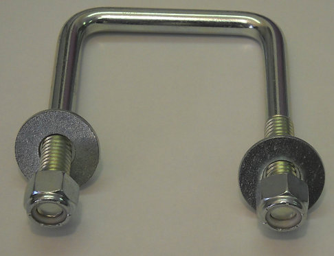 3 - U - Bolt for Mounting Bracket to Hay Accumulator, Grapple, or Grapalator
