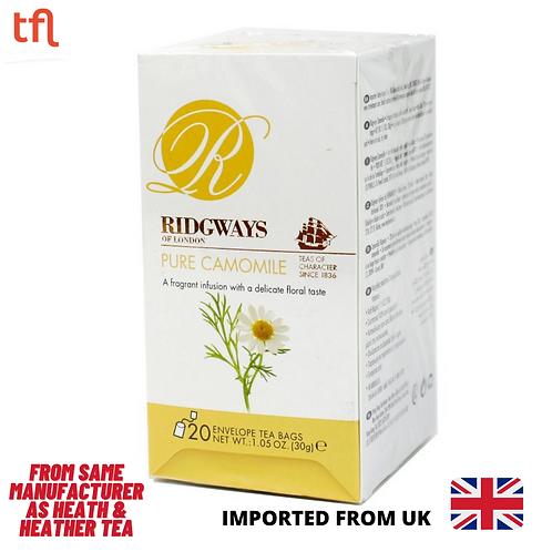 Ridgways Pure Chamomiles Tea - 20 sachets in envelope