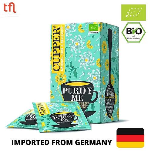 Cupper Organic Purify Me Tea 38g (20 tea bags)