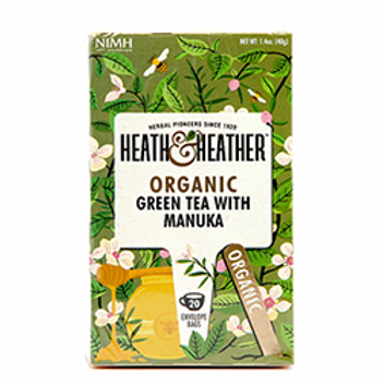 Organic Green Tea with Manuka