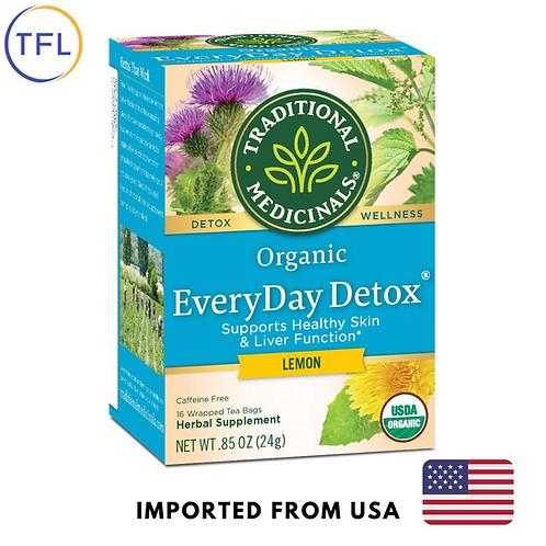 Traditional Medicinals - Organic Everday Detox