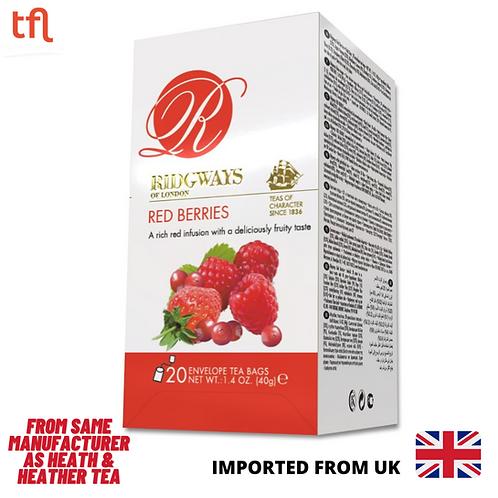 Ridgways Red Berries Tea - 20 sachets in individual envelope