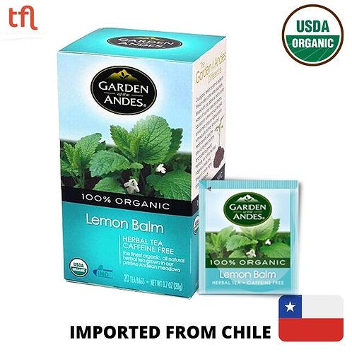 Garden of The Andes Organic Lemon Balm Tea (20bags)
