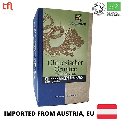 Sonnentor Organic Chinese Green Tea (18 sachets)