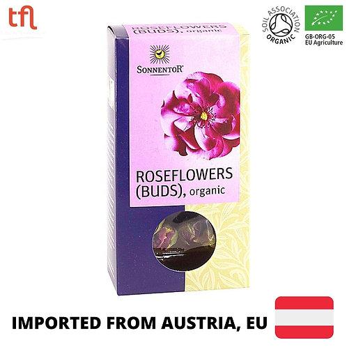 Sonnentor Organic Rose Flower Buds - Loose flowers (30g)