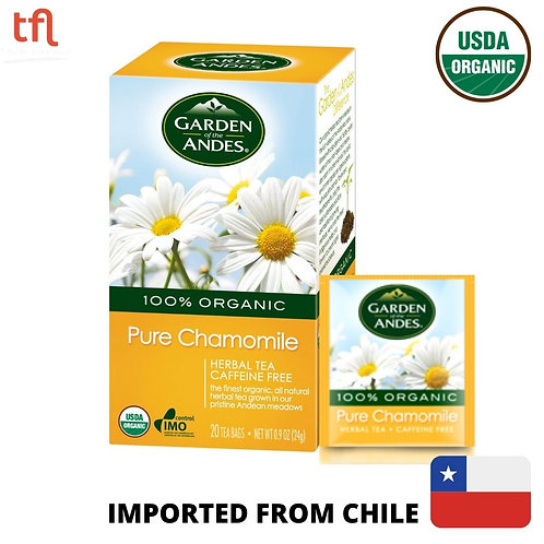 Garden of The Andes Organic Pure Chamomile Tea (20bags)