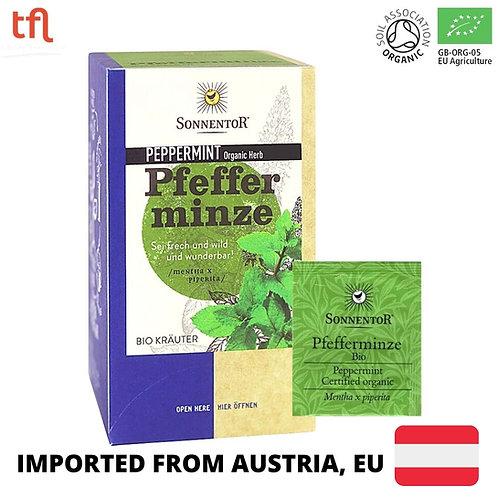 Sonnentor Organic Peppermint Tea (18 sachets)