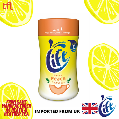 Lift Instant Peach flavour Tea Powder 300g