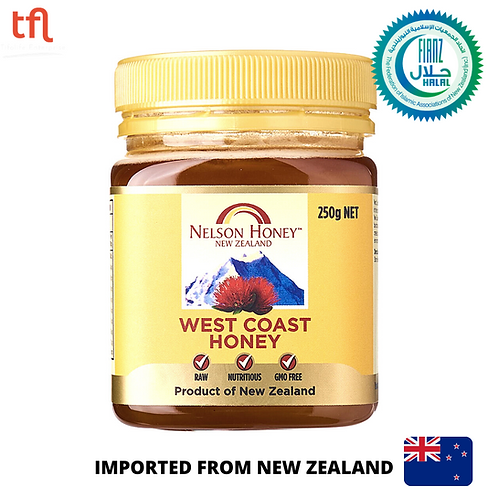 West Coast Honey 250g