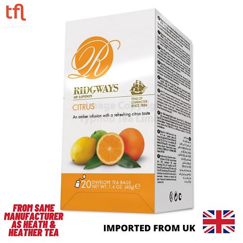 Ridgways Citrus Tea - 20 sachets in envelope