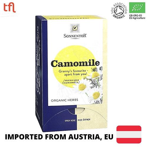 Sonnentor Organic Camomile Tea (18 sachets)