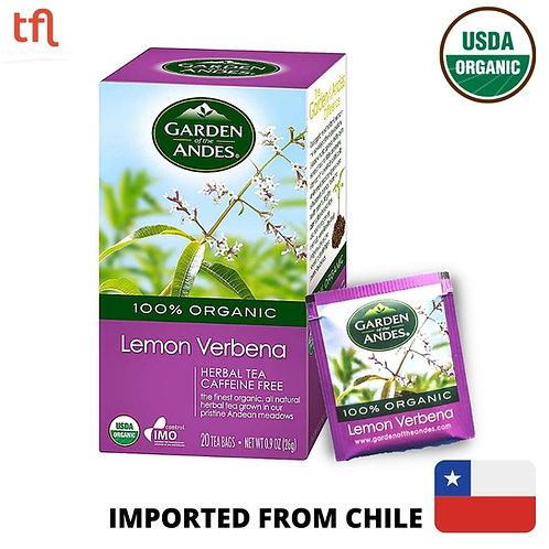 Garden of The Andes Organic Lemon Verbena Tea (20bags)